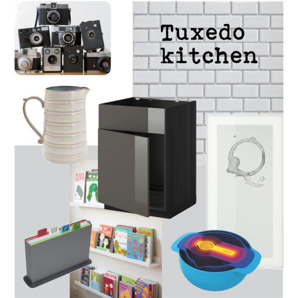 Tuxedo kitchen